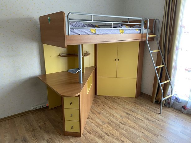 Двухярусная кровать, турецкая фабричная мебель