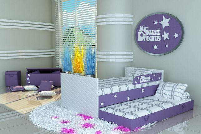 Łóżko dziecięce piętrowe, podwójne, 3 wymiary, raty, dostawa
