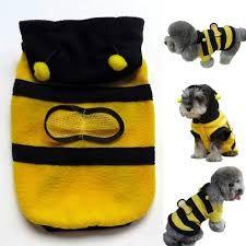 Одежда для маленьких собак Пчелка