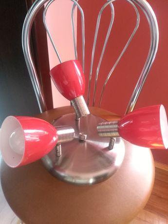 Lampa żyrandol w zestawie żarówki