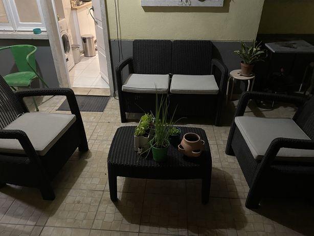 Conjunto sofa externo