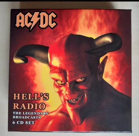 ACDC Hell's Radio 6 cds