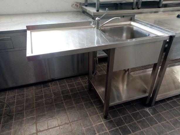 Bancada de lavagem com cuba e torneira ACM104 - Usado
