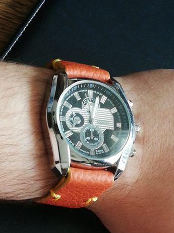 Sprzedam męski zegarek Zhong Yi na ręcznie wykonanym pasku