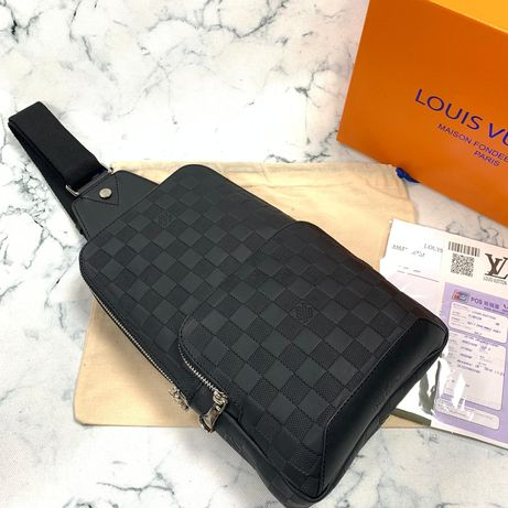 Saszetka Louis Vuitton Avenue Sling Bag/ skóra naturalna