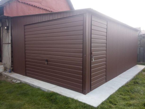 Garaż blaszany wiaty schowki blaszak garaże blaszane producent