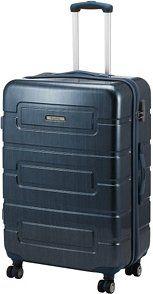 duża nowa walizka, 91 litrów, policarbon,