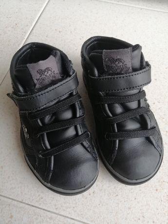 Ténis bota pretos Lonsdale 23