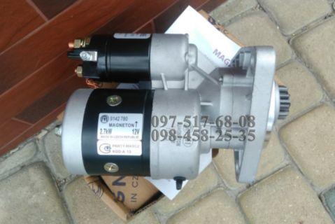 Стартер 12V-2.7kW на МТЗ-ЮМЗ-Т40-Т25-Т16, Magneton 9142780