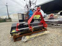Triturador de martelos 1,45 mts descentrável com 4 correias - CAMPANHA