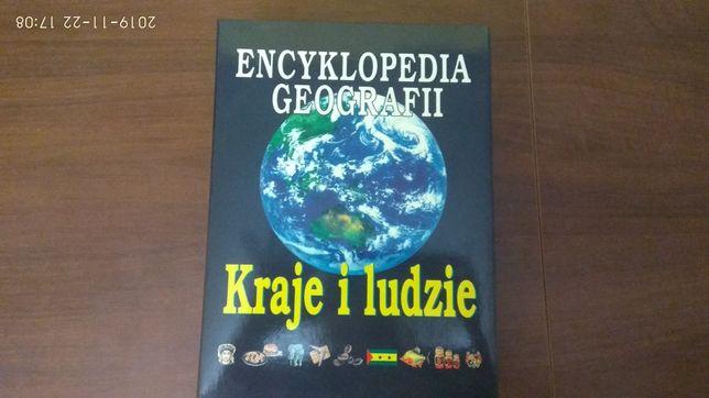 Zestaw Encyklopedia Geografii Kraj i Ludzie