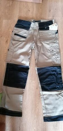 spodnie robocze monterskie marki LEBER&HOLLMAN,model HARVER rozmiar 52