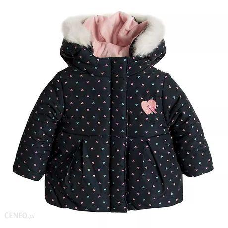 Sprzedam śliczną kurteczkę zimową dla dziewczynki Smyk rozmiar 80