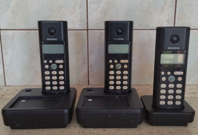 Telefony Siemens Gigaset A110 zestaw 3 szt.