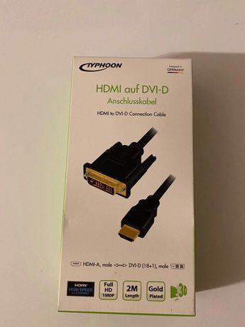 Kabel HDMI do DVI  2 m