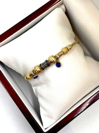 Złota bransoletka Pr. 585 Waga: 10,33 G Plus Lombard