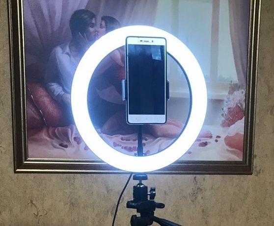 Кольцевая светодиодная лампа LED 26. Кольцо для селфи блогера.
