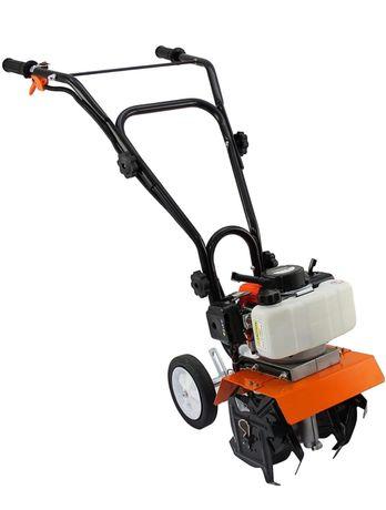 Mini cultivador com motor 52cc a gasolina - Portes incluidos