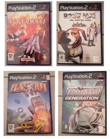 Diversos jogos para a PS2