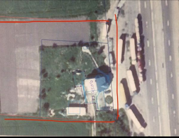 Фасадна земельна ділянка траса Київ-Чоп 50 сотих