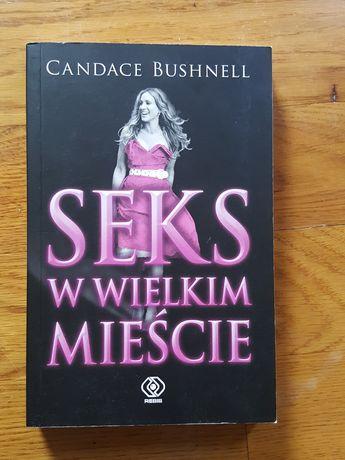 """książka """"Seks w wielkim mieście"""" Candace Bushnell"""