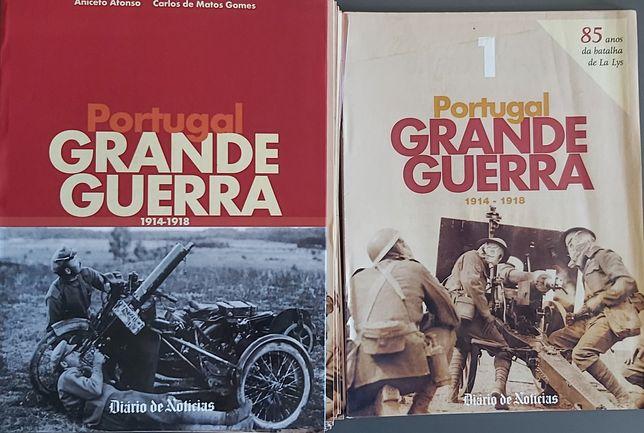 Portugal na Grande Guerra. Coleção completa de fascículos