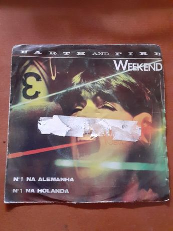 WEEKEND - EART AND FIRE - disco vinil single