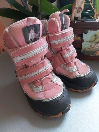 Зимние термосапожки для девочки