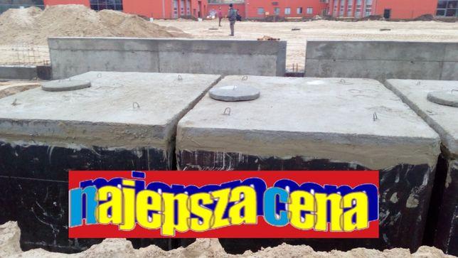 szambo betonowe 8m3 szamba zbiornik na deszczówkę piwnica kanał