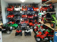 Samochód na akumulator quad motor motorek dla dzieci sklep stacjonarny