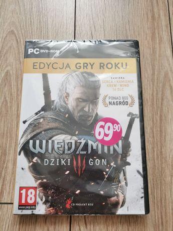 Wiedźmin 3 Dziki Gon Edycja Gry Roku PC BOX