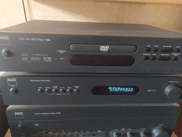 NAD t-562 dvd/cd/mp3 player