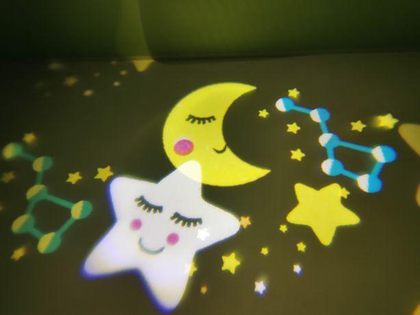 Projektor Led lampka nocna dla dzieci niebo usypiacz SUPER PREZENT!