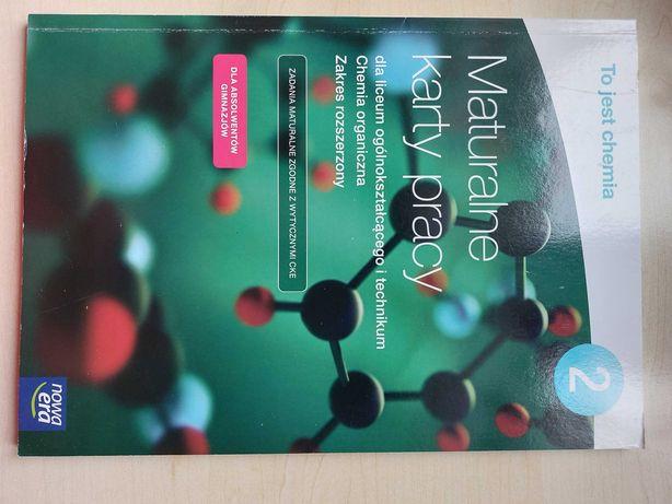 To jest chemia-  Maturalne karty pracy
