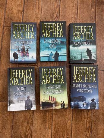 Jeffrey Archer Kronika rodziny Cliftonów 6 tomów