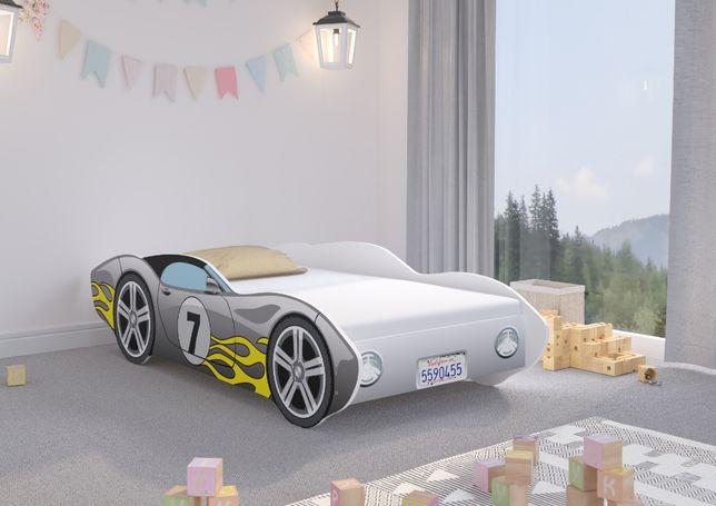 Łóżko dziecięce Auto CORVETTA 140x70 + materac - SAMOCHÓD !