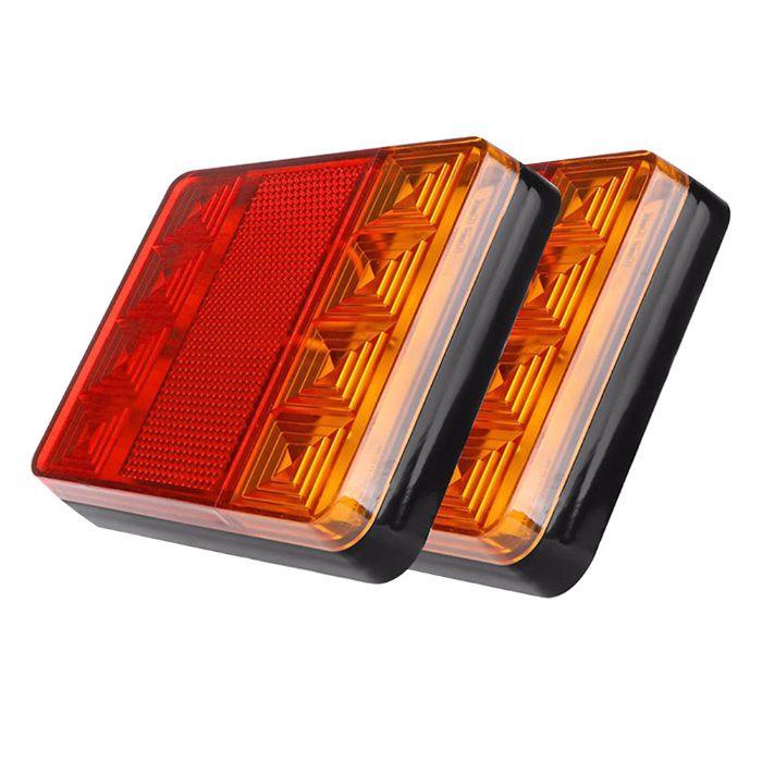 Farolins LED Traseira de Atrelado / Carrinha / Reboque