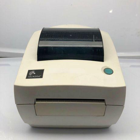 Принтер Zebra GC420 для печати этикеток Новой Почты 100x100mm.