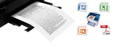 Распечатка, ксерокопия, сканирование А4, набор текста