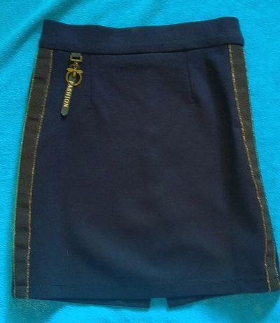 школьная юбочка для девочки 116-122 рост