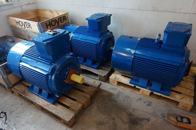 Silnik elektryczny HOYER 53,4 KW 730 obr/min