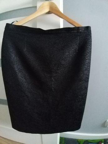 Spódnica ołówkowa czarna elegancka rozmiar M/L