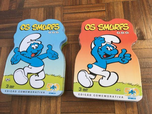 Coleção Smurfs 1 e 2 (1+2+3+a+5+6) Ed. Especial 50 Anos (DVD-Vídeo)