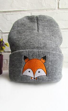 Детская шапочка на осень зиму для мальчика или девочки