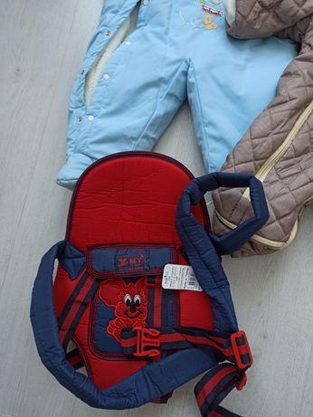 Эрго рюкзак, сумка кенгуру, комбинезон