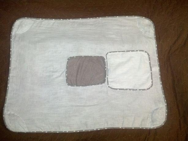 Защитная муслиновая пеленка SimplyGood