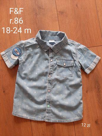 Koszula F&F r.86 18-24 m