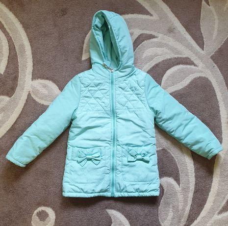 Демисезонная куртка для девочки до 7 лет