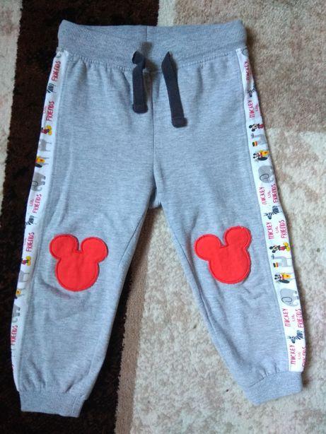 Теплые штанишки Disney размер 92 см.