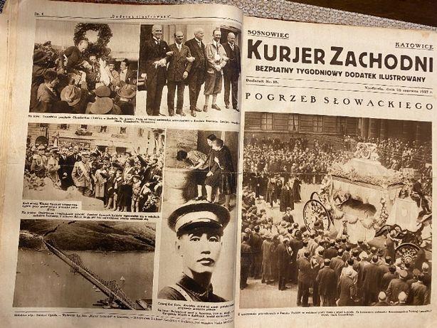Kurjer Zachodni cały 1927